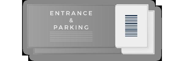 入場 & 駐車場チケット カテゴリー4