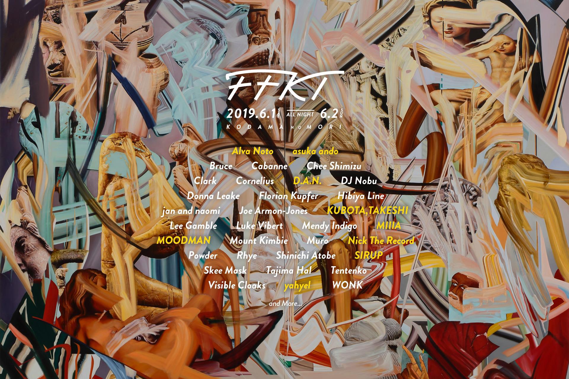 FFKT 2019 2nd line-up | FFKT 2019